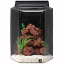SeaClear Deluxe Hexagon Aquarium Combo (15